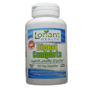 Digest Complete 120 Front Bottle Label