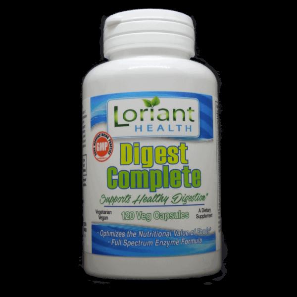 Digest Complete 120 Front Bottle Label