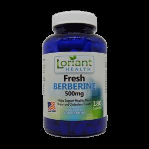 Fresh Berberine Front Label of Bottle