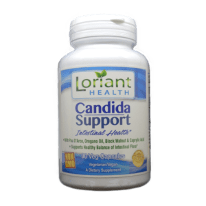 Candida Support Front Label of Bottle