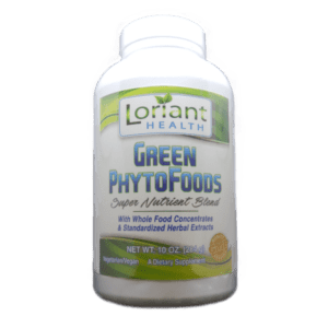 Green PhytoFoods Front Label of Bottle