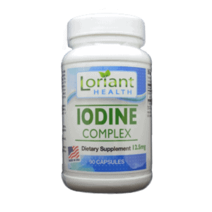 Iodine Complex Front Label of Bottle