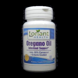 Oregano Oil Front Label of Bottle