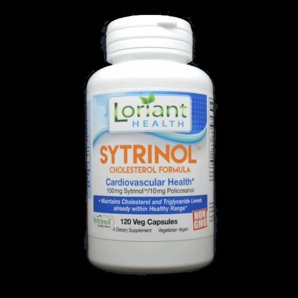 Sytrinol 120 Count Bottle Front Label