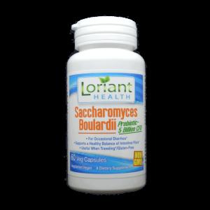 Saccharomyces Boulardii Front Label of Bottle