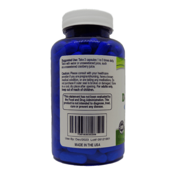 Pure D-Mannose Usage and Facts Label