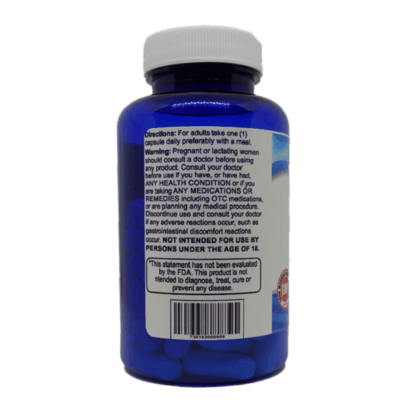 Alpha Lipoic Acid 300 Supplement Facts and Usage Label