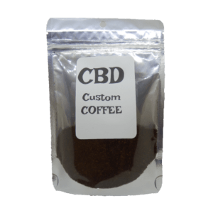 CBD Custom Coffee Product with Label