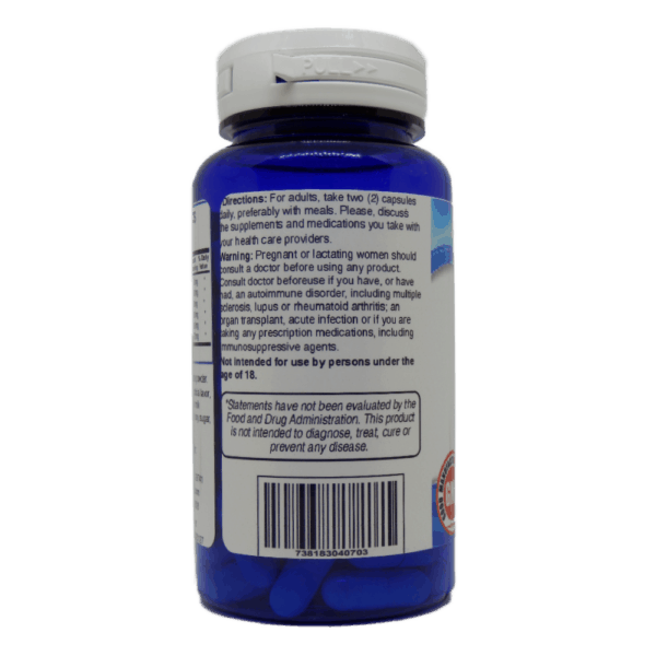 Advanced Mushroom Defense Supplement Facts and Usage Label