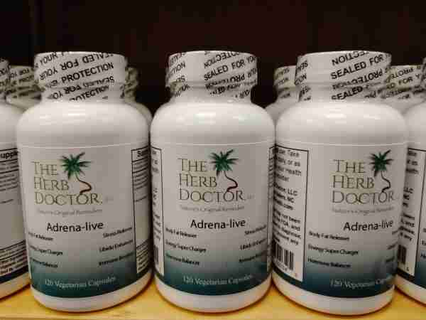 Adrena-live by The Herb Doctor